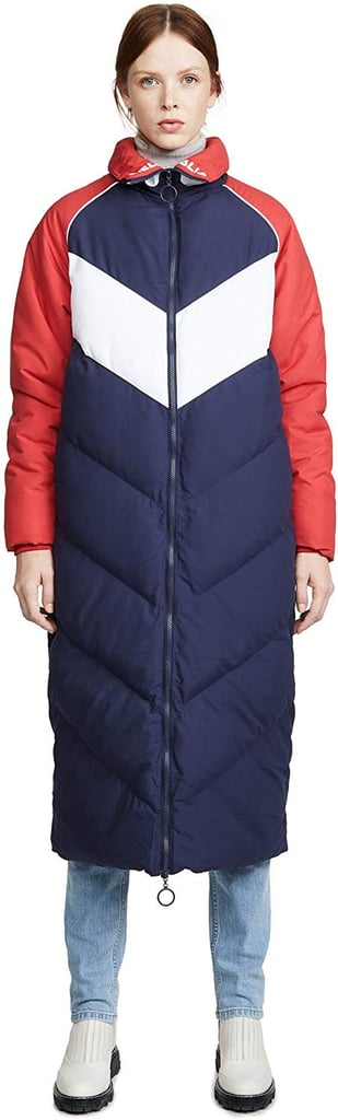 Fila Women's Keon Long Puffer Jacket