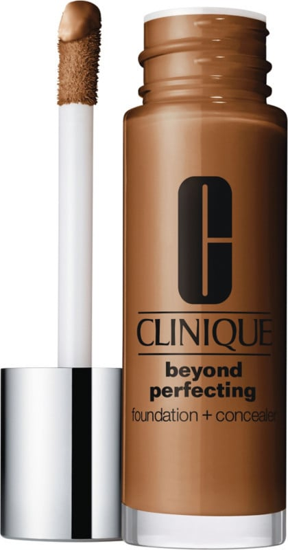 Clinique Beyond Perfecting Foundation + Concealer ($28) comes in 20 shades.