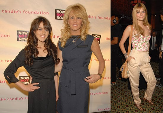 Mischa Barton, Dina Lohan, Ali Lohan at 5th Annual Candie's Foundation Event to Prevent in NYC