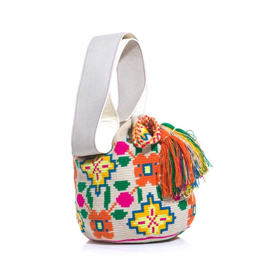 I'm going to pretend I'm headed to Barcelona and will roam the streets eating, drinking and shopping my way through town with this gorgeous bohemian bucket bag. I can't wait to ditch my leather bag for something fun and colourful come Summer! — Marisa, publisher Bag, approx $435, Sophia Anderson at Matches