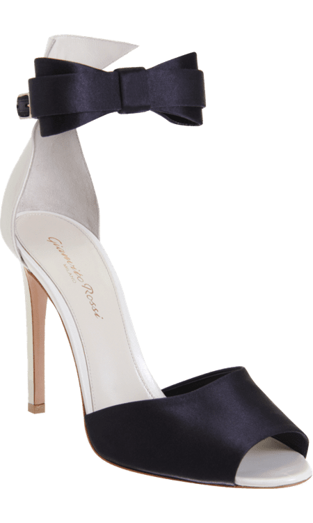 Oh hello, my dream holiday shoe comes complete with a bow on top! These Gianvito Rossi bow tie sandals ($775) are so festive and fun, but the clean and classic design make these a timeless gift for the shoe lover if you ask me. — Noria Morales, style director
