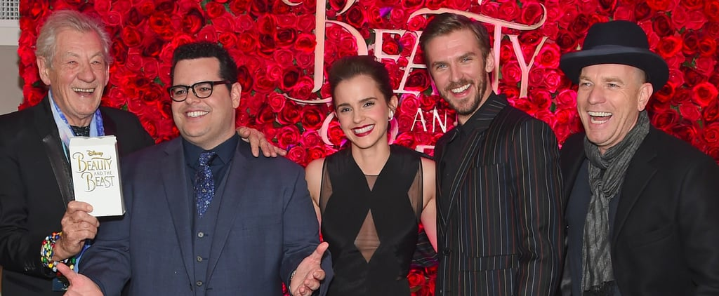 The Beauty and the Beast Cast Looks as Lovely as a Rose During Their Press Tour