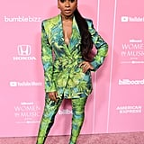 Normani Wearing Versace at the 2019 Billboard Women in Music Event
