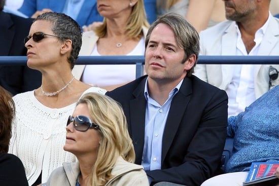 Celebrities at the 2009 Men U.S Open final