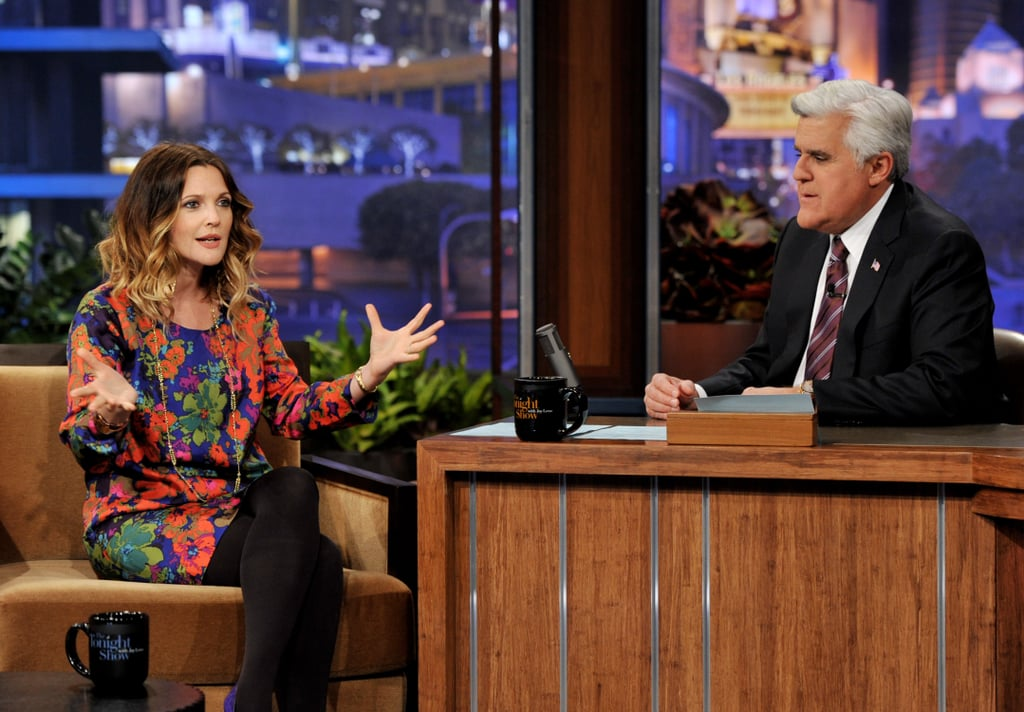 Drew Barrymore talked up Big Miracle on The Tonight Show.