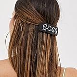 ASOS Design Tortoiseshell Boss Clip