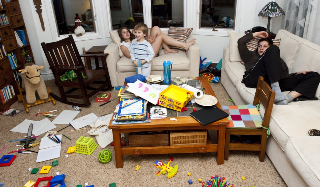 Funny Photos of Kids Making Messes