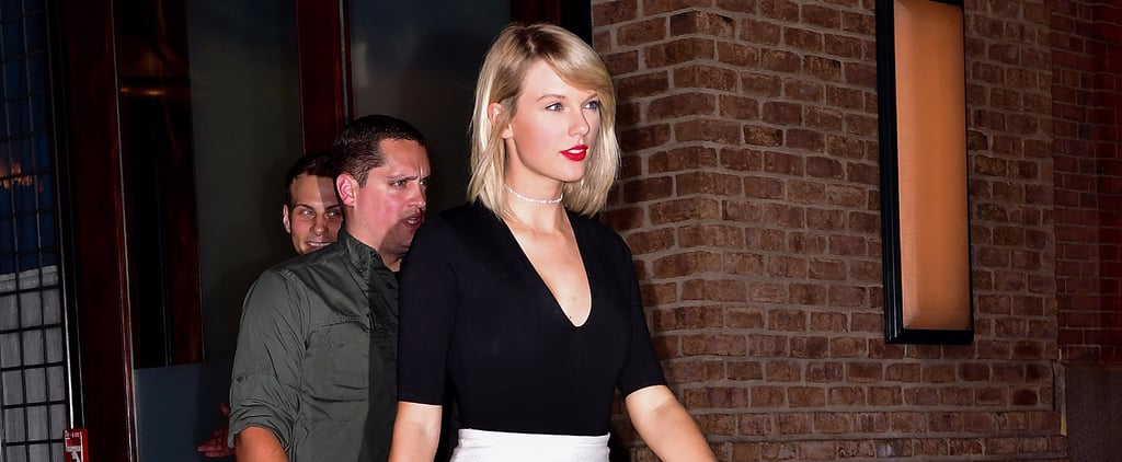Taylor Swift's Outfit May Be Ridiculously Easy, but It's Also Ridiculously Chic