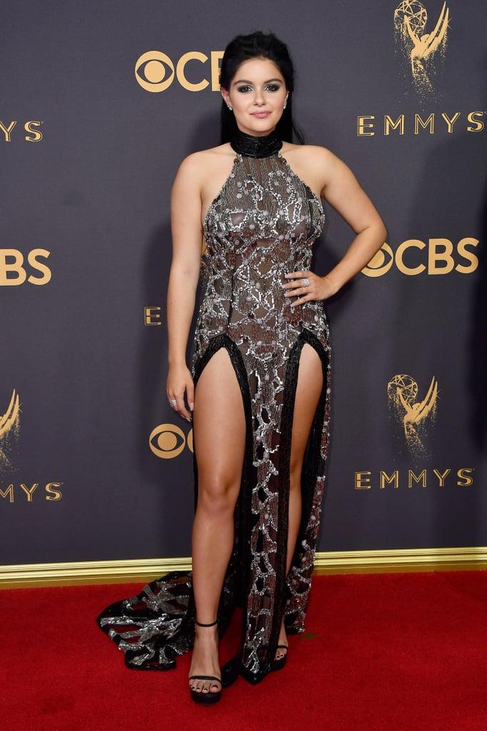 Ariel Winter Wearing Black Dress at 2017 Emmys