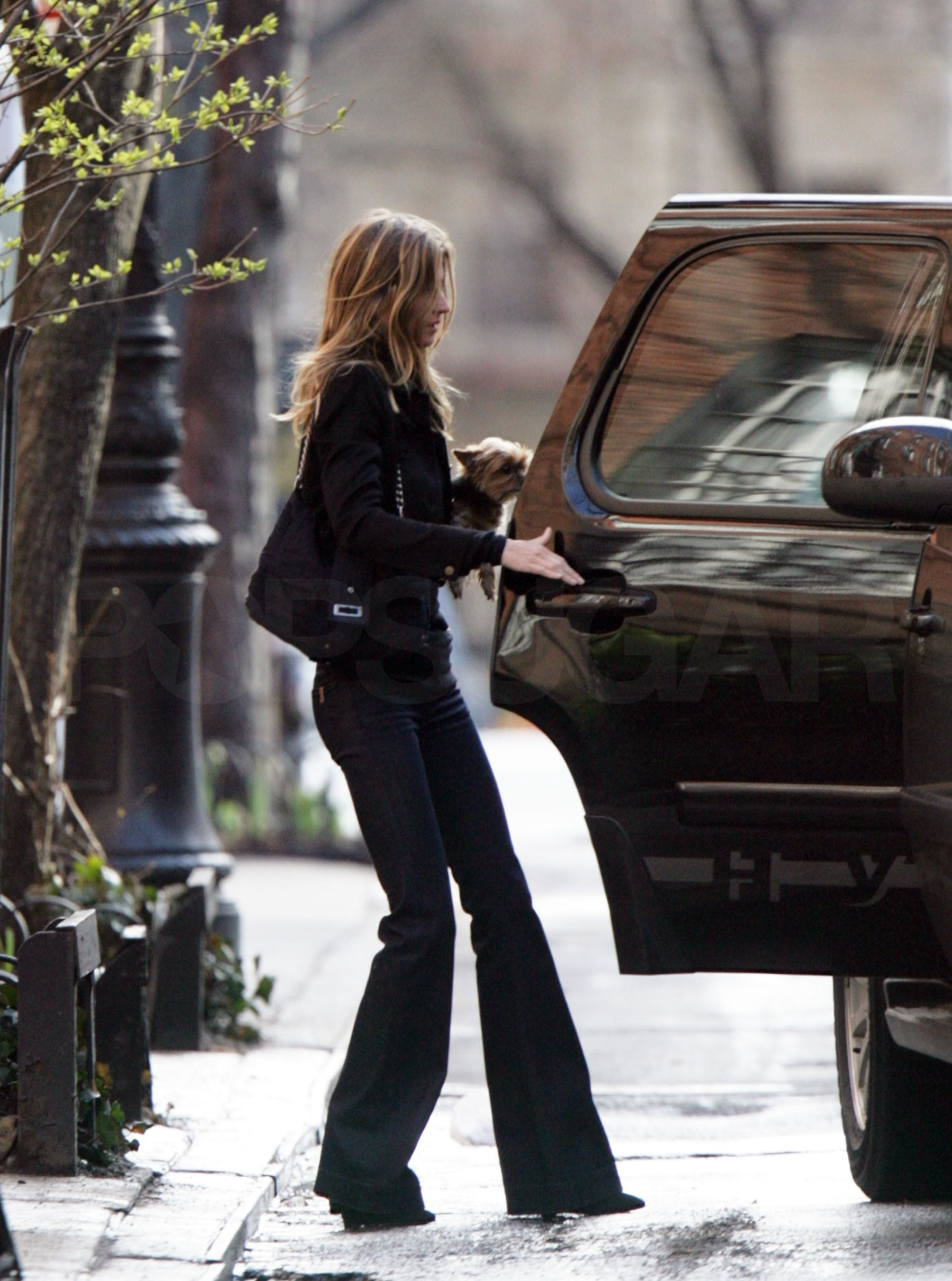 Photos Of Tom Brady And Gisele Bundchen In New York City -2144