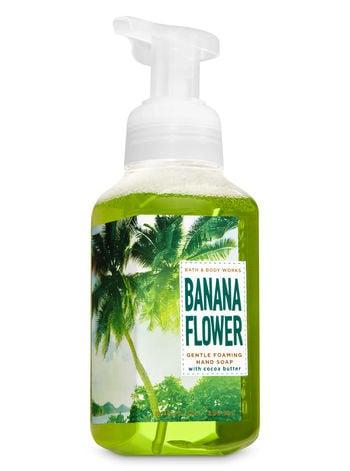 Bath & Body Works Banana Flower Gentle Foaming Hand Soap
