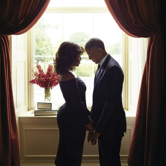 Photo of Barack and Michelle Obama in Essence Magazine