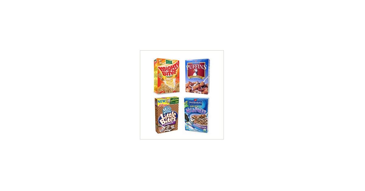 healthy kid cereals popsugar moms