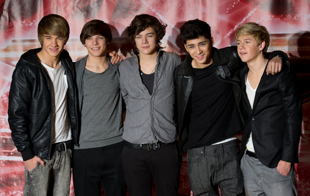 One Direction at the X Factor Photocall in 2010