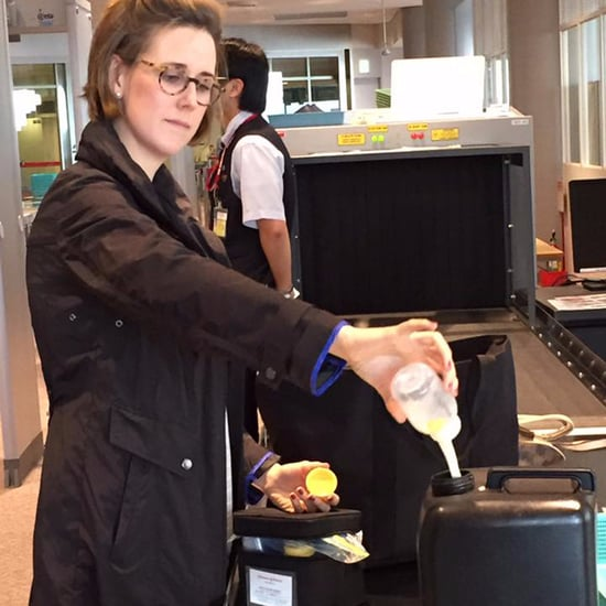 Airport Security Forces Mom to Dump Out Breast Milk