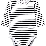 Jacadi Unisex Striped Long-Sleeve Bodysuit