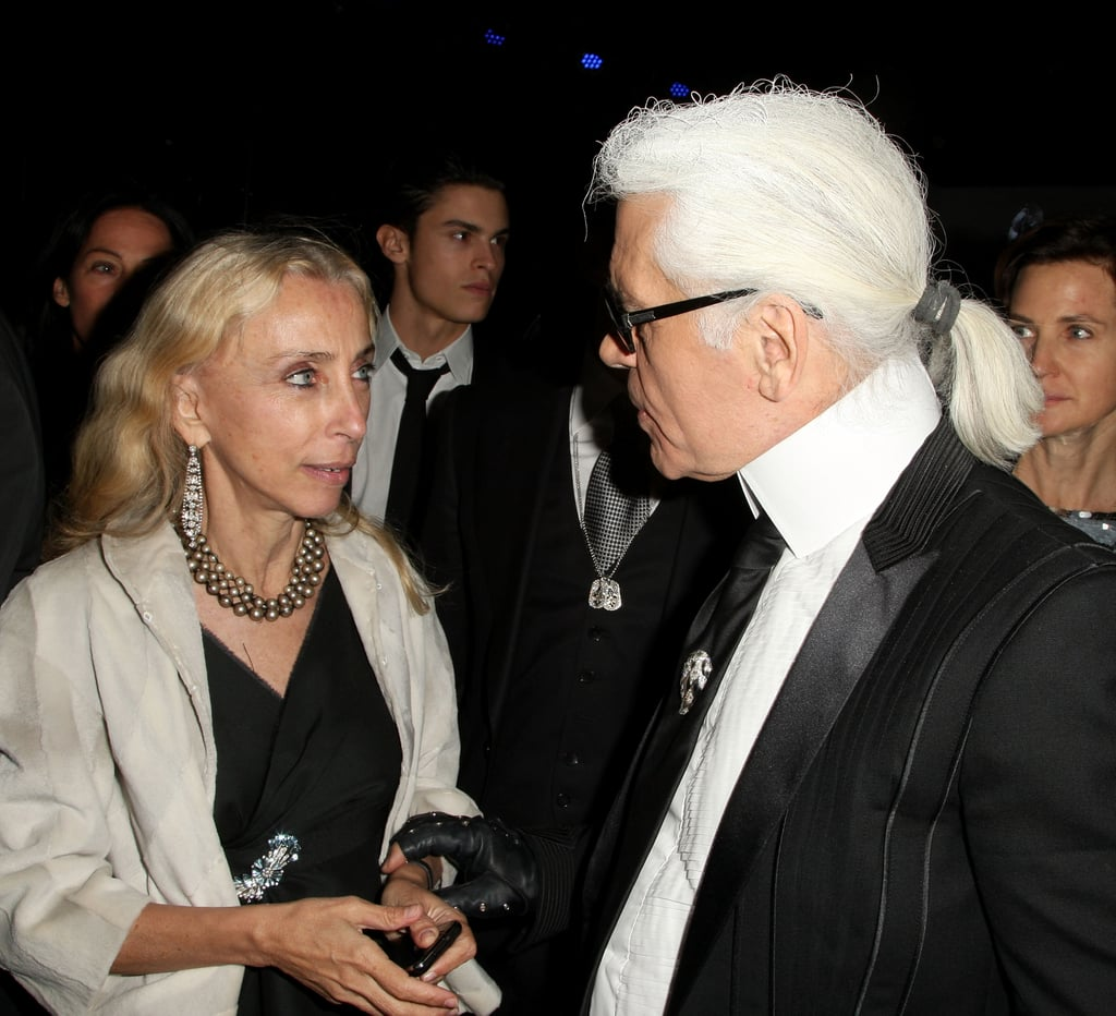 Franca Sozzani, Karl Lagerfeld.