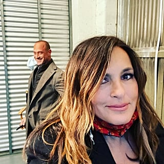Christopher Meloni and Mariska Hargitay Are Back to Business in These New SVU Set Selfies