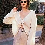 Chriselle Lim Sabine Front/Back Sweater