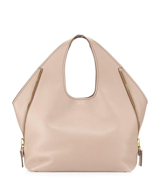 Tom Ford 'Jennifer' Side-Zip Medium Leather Hobo Bag ($2,790)