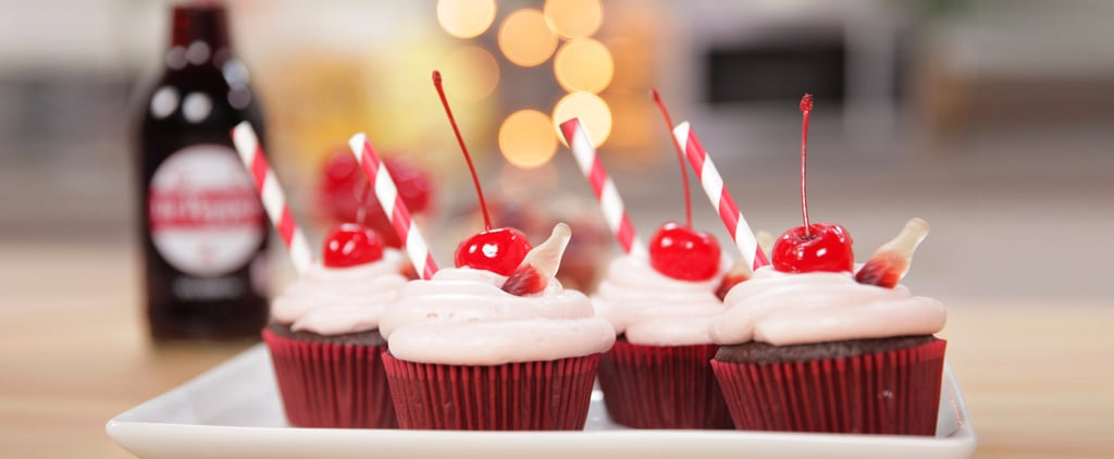 Cherry Dr Pepper Cupcake Recipe