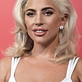 Lady Gaga With All Over Blond Hair
