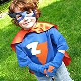 Handmade Superhero Halloween Costume