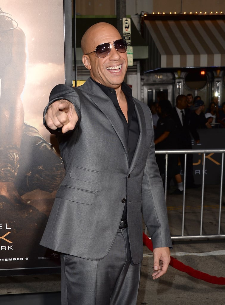 Vin Diesel = Mark Sinclair Vincent
