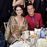 Anne Hathaway and Andrew Scott at the 2020 Critics' Choice Awards