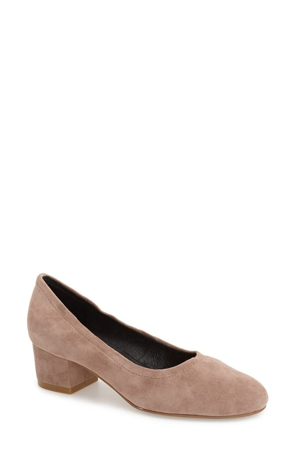 Jeffrey Campbell Bitsie Round Toe Pump ($125)