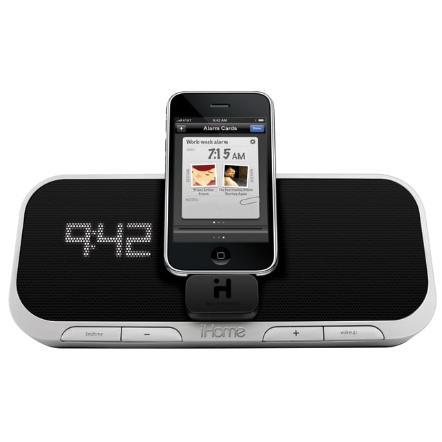 Photos of the iHome iPhone App