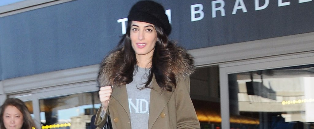 Amal Clooney's Outfit Is Chic as Can Be — Until You Spot Her Sweater