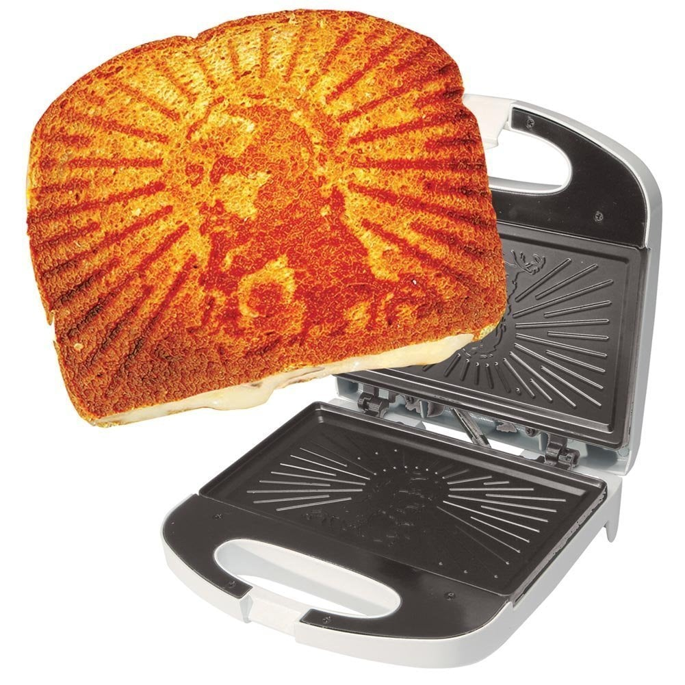 The Grilled Cheesus Sandwich Press ($40)