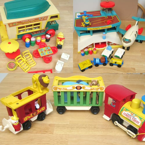 Classic Fisher Price Toys : Vintage fisher price toys for kids popsugar family