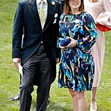 The couple looked so happy during the 2017 Royal Ascot.