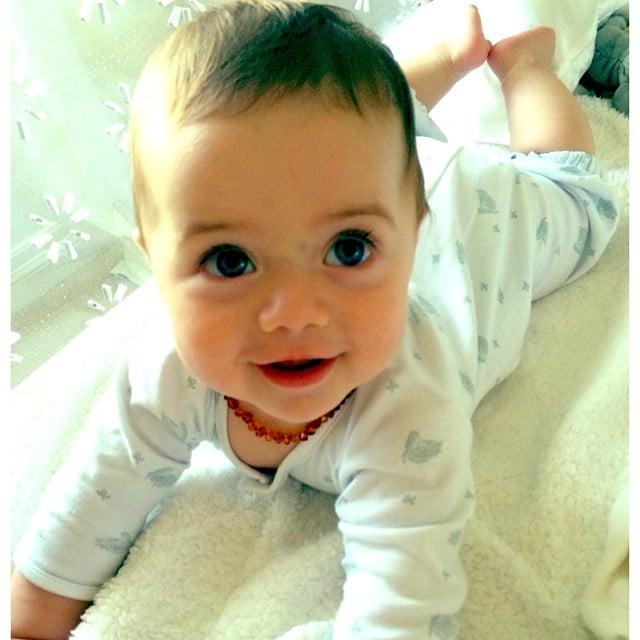 Kaius Berman was all smiles for mom Rachel Zoe. Source: Instagram user rachelzoe