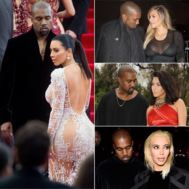 25 Times Kanye West Only Had Eyes For Kim Kardashian