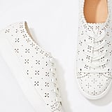 Eyelet Lace-Up Sneaker