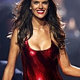 Alessandra Ambrosio dazzled at the amfAR gala.