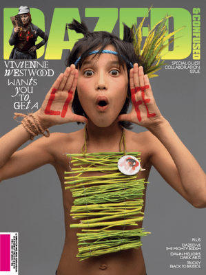 Fab Cover: Vivienne Westwood Guest Edits Dazed and Confused