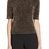 Kate Spade New York Metallic Fuzzy Sweater
