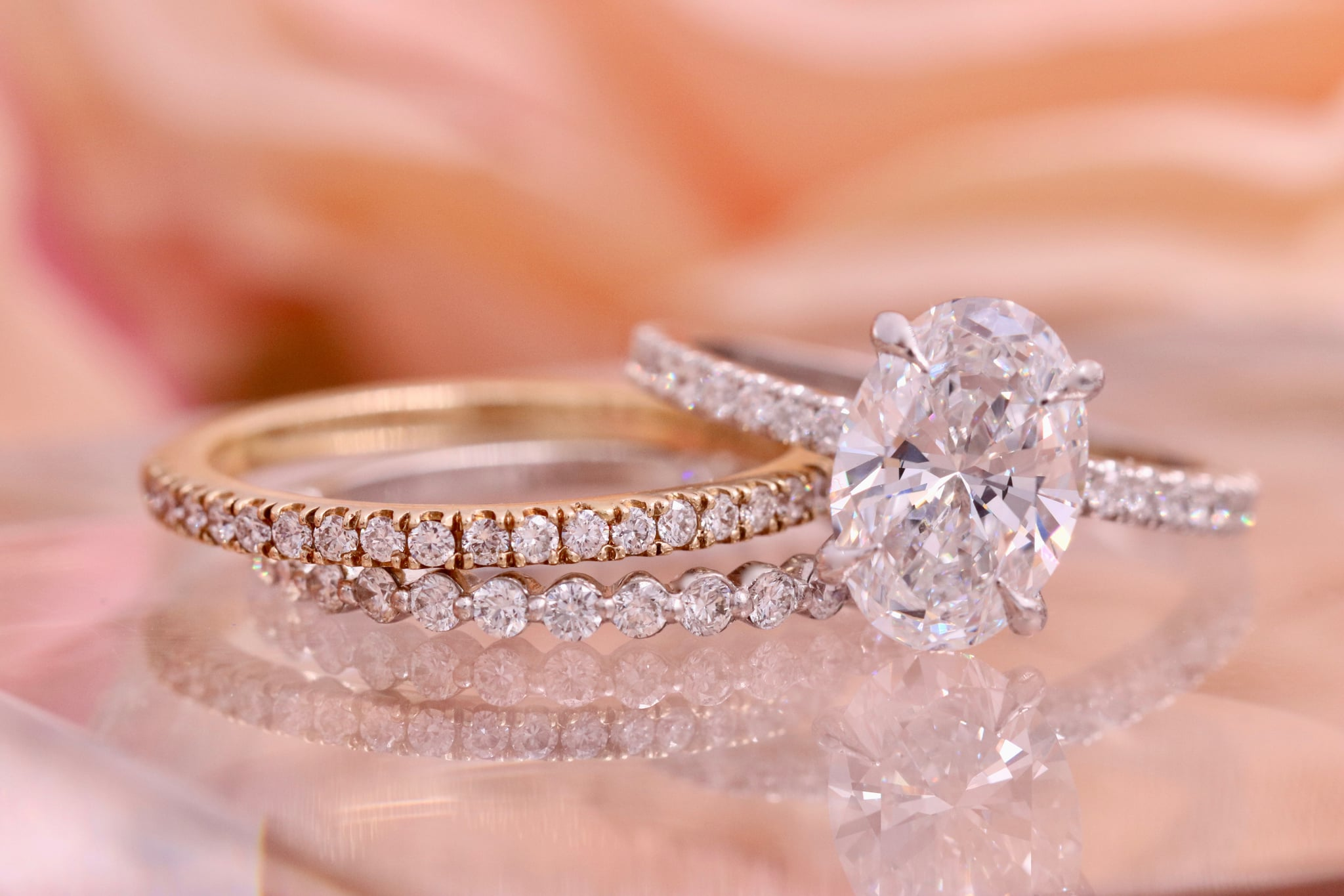 The Best Band For Every Engagement Ring Diamond Shape Popsugar Fashion