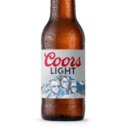 The Jonas Brothers Are Releasing Custom Coors Light Bottles