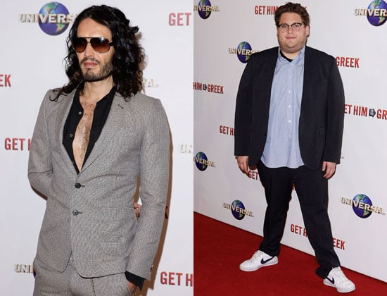 Pictures of Jonah Hill, Russell Brand and Delta Goodrem at the Get Him to the Greek Sydney Premiere