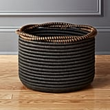 Bonnie: Amber Coiled Rope Basket