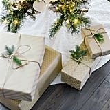 Wrap Your Christmas Gifts Side by Side
