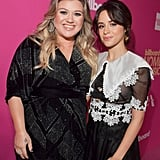 Pictured: Kelly Clarkson and Camila Cabello