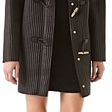 Alexander Wang's Leather Rib Duffle Coat ($1,550) is super thick, making it perfect for a snow day.