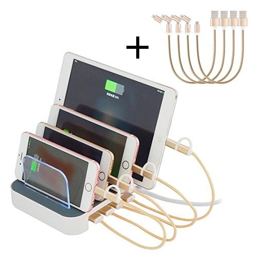 4 USB Family Charging Station