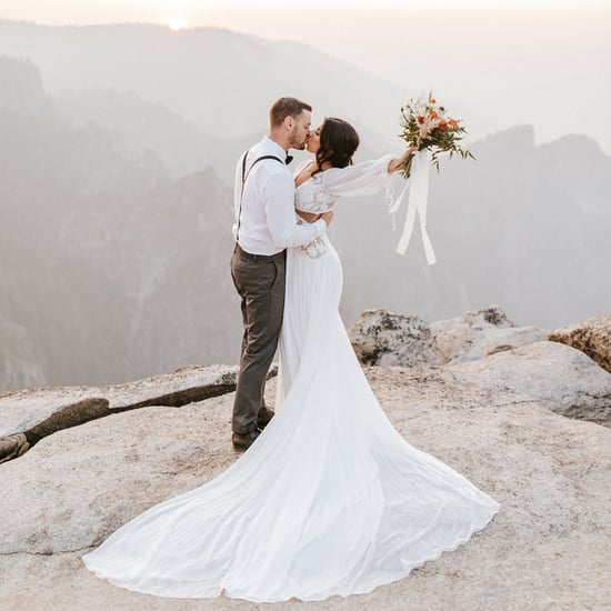 See Photos From This Couple's Dreamy Yosemite Vow Exchange